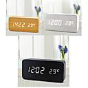 halpa Herätyskellot-Digitaalinen Puu Herätyskello,LED