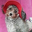 abordables Ropa para Perro-Gato Perro Bandanas y Sombreros Ropa para Perro Un Color Rojo Azul Rosa Nailon Disfraz Para Primavera & Otoño Hombre Mujer Vacaciones