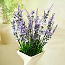 رخيصةأون نباتات اصطناعية-زهور اصطناعية 1 فرع الحديث أزرق فاتح أزهار الطاولة