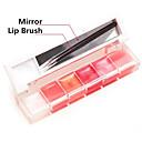 저렴한 립글로스-메이크업 도구 젤 립글로스 젖은 / 희미하게 반짝이는 쉬머의 번쩍 이는 글로스 / 색깔있는 글로스 / 습기 구성하다 화장품 일상 미용 용품