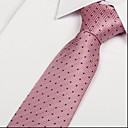 cheap Nail Brushes-Men's Party / Work / Basic Necktie - Polka Dot Print