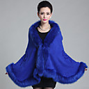 cheap Girls' Shoes-Sleeveless Faux Fur Wedding Wedding  Wraps / Fur Coats / Hoods & Ponchos With Feathers / Fur Capes