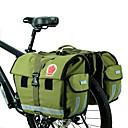 billige Pudebetræk-ROSWHEEL 45 L Taske til bagagebæret / Cykeltaske Vandtæt, Justérbar, Stor kapacitet Cykeltaske Lærred / Vandtæt materiale Cykeltaske Cykeltaske Cykling / Cykel / Vandtæt Lynlås