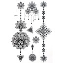cheap Tattoo Stickers-1 Non Toxic Pattern Halloween Large Size Tribal Lower Back Waterproof Others Tattoo Stickers