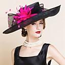 abordables Coiffes-Lin Kentucky Derby Hat / Chapeaux avec 1 Mariage / Occasion spéciale Casque
