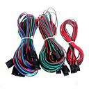 billige 3D-printerdeler og tilbehør-14pcs komplett ledningsnett kabler for 3d printer RepRap ramper 1,4 endestopper thermistors motor
