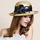billige Øredobber-polyester Hatter med 1 Bryllup / Spesiell Leilighet / utendørs Hodeplagg