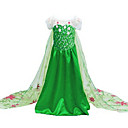 cheap Movie & TV Theme Costumes-Princess / Elsa / Movie / TV Theme Costumes Cosplay Costume / Party Costume Christmas / Halloween / Children's Day Festival / Holiday