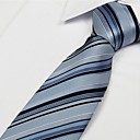 cheap Men's Ties & Bow Ties-Unisex Party / Work / Basic Necktie - Striped