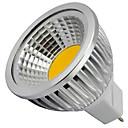 preiswerte Netzadapter & Netzkabel-4W 400lm GU5.3(MR16) LED Spot Lampen MR16 1 LED-Perlen COB Dekorativ Warmes Weiß / Kühles Weiß 12V