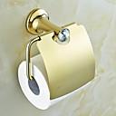 tanie Baterie łazienkowe-Uchwyt na papier toaletowy Współczesny Mosiądz 1 szt. - Kąpiel w hotelu