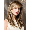 billige Syntetiske parykker med blonde-Syntetiske parykker Rett Syntetisk hår Parykk Lokkløs