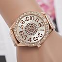 ieftine Ceasuri La Modă-Bărbați / Pentru femei Ceas de Mână Ceas Casual Aliaj Bandă Modă / Elegant Argint / Auriu / Roz auriu