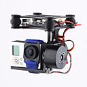 baratos Quadicópteros CR & Multirotores-Brand CNC 2Axis Brushless Gimbal Camera Mount with Motor & Controller FPV PTZ for Gopro3 3+ 4 DJI Phantom 2 3 Gimbal Crianças Clássico