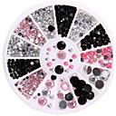 preiswerte Nagel Strass & Dekorationen-1 Nagelschmuck Glitter & Poudre Klassisch lieblich Punk Alltag Klassisch lieblich Punk Gute Qualität