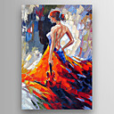 cheap Rolled Canvas Prints-Oil Painting Hand Painted - Famous Modern Stretched Canvas