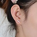 olcso smink ecset készlet-Női Beszúrós fülbevalók - hölgyek, minimalista stílusú, Divat Arany / Ezüst Kompatibilitás Napi Hétköznapi