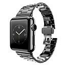 preiswerte Mädchenschuhe-Uhrenarmband für Apple Watch Series 3 / 2 / 1 Apple Schmetterling Schnalle Metall Handschlaufe