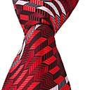 cheap Men's Accessories-Unisex Party / Work / Basic Polyester Necktie - Color Block Print / Cute / Multi-color