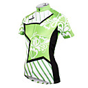 cheap Jewelry Sets-ILPALADINO Women's Short Sleeve Cycling Jersey - Green Bike Jersey, Quick Dry, Ultraviolet Resistant, Breathable Polyester