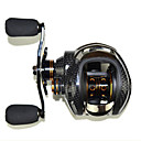 cheap Fishing Reels-Baitcasting Reel 6.3:1 Gear Ratio+14 Ball Bearings Left-handed Sea Fishing Bait Casting Ice Fishing Jigging Fishing Freshwater Fishing