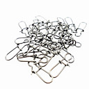 cheap Fishing Tools-50 pcs Fishing Snaps & Swivels Other Tools Metal General Fishing