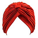 cheap Historical & Vintage Costumes-Women's Party / Work / Active Beanie / Slouchy - Solid Colored / Cute / Black / White / Yellow / Red