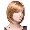 זול פיאות סינטטיות ללא כיסוי-פאות סינתטיות ישר שיער סינטטי פאה בגדי ריקוד נשים קצר ללא מכסה
