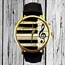 preiswerte Mode Uhr-Damen Uhr Armbanduhr Quartz Gestepptes PU - Kunstleder Schwarz Armbanduhren für den Alltag Analog damas Retro Freizeit Modisch Weiß Schwarz Braun / Ein Jahr / Edelstahl / Ein Jahr / Tianqiu 377