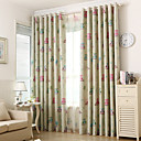cheap Curtains Drapes-Two Panels Owl Kids  Blackout Printing Curtains Shades