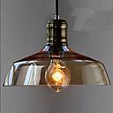 preiswerte Pendelleuchten-Pendelleuchten Moonlight Galvanisierung Metall Glas Ministil 110-120V / 220-240V Wärm Weiß Glühbirne nicht inklusive / E26 / E27
