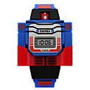 preiswerte Modische Uhren-Armbanduhr Digital Kalender Silikon Band digital Charme Modisch Blau / Rot / Grau - Gelb Rot Blau Zwei jahr Batterielebensdauer / Maxell626 + 2025