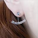 ieftine Inele de Ureche-Pentru femei Candelabru Cercei - Perle, Ștras Clasic Argintiu / Auriu Pentru Zilnic / Casual