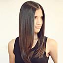 hesapli Gerçek Saç Örme Peruklar-Gerçek Saç Ön Dantel Peruk Düz % 120 Yoğunluk Ombre Saç / Doğal saç çizgisi / Afrp Amerikan Peruk Kadın's Orta Gerçek Saç Örme Peruklar / % 100 Elle Bağlanmış