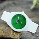 זול שעוני צמיד-בגדי ריקוד נשים קווארץ שעון יד מכירה חמה סיליקוןריצה להקה קסם יום יומי אופנתי לבן