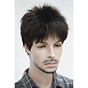 cheap Synthetic Capless Wigs-Synthetic Wig Straight / Wavy With Bangs Synthetic Hair Wig Women's Short Capless