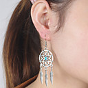 cheap Jewelry Sets-Women's Turquoise Drop Earrings / Dangle Earrings - Turquoise Wings Bohemian, European, Simple Style Silver For Daily / Casual