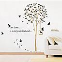 preiswerte Wand-Sticker-Dekorative Wand Sticker - Flugzeug-Wand Sticker Landschaft / Weihnachten / Blumen Wohnzimmer / Schlafzimmer / Badezimmer / Abziehbar