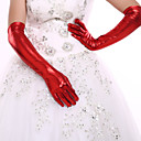 cheap Party Headpieces-Spandex / Polyester Elbow Length Glove Classical / Bridal Gloves / Party / Evening Gloves With Solid