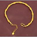 preiswerte Armbänder-Damen - Gold Kette, Klassisch Armbänder Für Hochzeit / Party / Besondere Anlässe / Jahrestag / Verlobung / Geschenk / Alltag / Normal