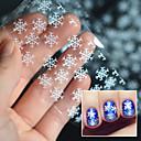 povoljno Naljepnice za nokte-1 pcs 3D Nail Naljepnice nail art Manikura Pedikura Lijep Punk / Vjenčanje / Moda Dnevno / Opeka / 3D naljepnice za nokte