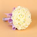 """cheap Wedding Flowers-Wedding Flowers Bouquets Wedding Elastic Satin Foam 10.63""""(Approx.27cm)"""