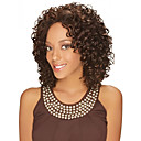 cheap Synthetic Capless Wigs-Synthetic Wig Women's Curly Brown Middle Part Synthetic Hair Heat Resistant / Fashion / African American Wig Brown Wig Medium Length Capless Brown