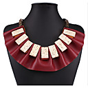 cheap Necklaces-Women's Statement Necklace - Leather Statement, European, Fashion Screen Color Necklace For