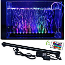 cheap Cleaning Tools-lm LED Aquarium Lights 50 leds SMD 5050 Waterproof Decorative Remote-Controlled RGB AC 100-240V