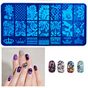 cheap LED Strip Lights-1 pcs Stamping Plate Template Fashion Daily / Metal