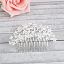 cheap Brooches-Rhinestone Hair Combs with 1 Wedding / Special Occasion / Casual Headpiece