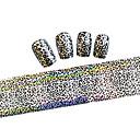 billige Negleklistremerker-1 pcs Nail Foil Striping Tape Neglekunst Manikyr pedikyr Smuk Tegneserie / Mote Daglig / Folie Stripping Tape