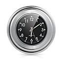 """זול חלקי הצתה-אופנוע אופניים 7/8 """"1 כידון הר שעון שעון חיוג שחור עבור YAMAHA הארלי"""