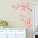 preiswerte Wand-Sticker-Landschaft Romantik Mode Formen Blumen Transport Feiertage Cartoon Design Fantasie Botanisch Wand-Sticker Flugzeug-Wand Sticker